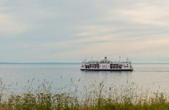 Stock Photo of Caribou, Canada - August 13th, 2015: MV Confederation ferry crossing between