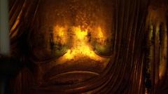 Gold Buddha Stock Footage