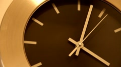 Office Wall Clock - stock footage