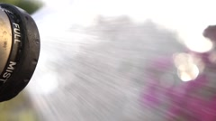 Water Nozzle Stock Footage