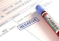 HIV Negative Stock Illustration
