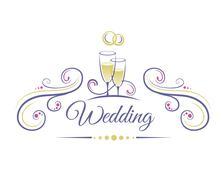 Stock Illustration of Wedding Decoration
