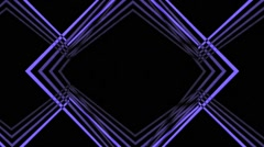 VJ Loop A Classic Geometric Animated Art Visual Background a lot of versions - stock footage