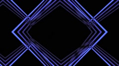 VJ Loop A Classic Geometric  Animated Art Background a lot of versions Stock Footage