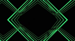 Stock Video Footage of VJ Loop A Classic Geometric Animated Art  Background a lot of versions