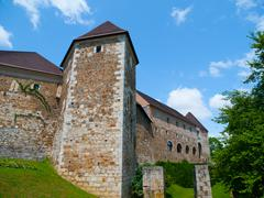 Fortification of Ljubljana Castle - stock photo