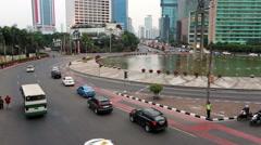 Jakarta Plaza Indonesia Stock Footage