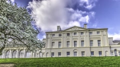 Timelapse view of Kenwood House in London Stock Footage
