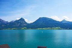 Wolfgangsee, Austria - stock photo