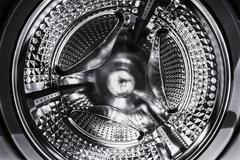 Steel drum washing machine Stock Photos