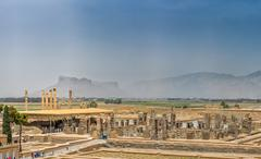 Persepolis ruins Stock Photos