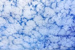 Background of altocumulus clouds Stock Photos
