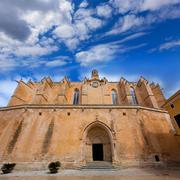 Ciutadella Menorca Cathedral in Ciudadela at Balearic - stock photo