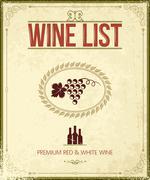wine vintage background - stock illustration