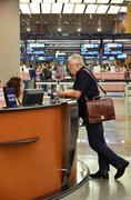 Changi International Airport in Singapore Stock Photos