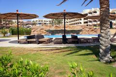 Holiday resort - stock photo