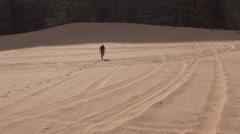 Stock Video Footage of Pastoral Settings in the Wadi Rum, Jordan