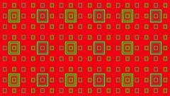 VJ Loop Animation Neon Square Millimetre Art Background Visual - stock footage