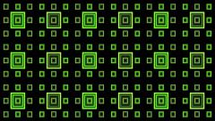 VJ Loop Animation Neon Square Milimetre Art Background Visual - stock footage