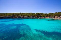 Stock Photo of Menorca Cala en Turqueta Ciutadella Balearic Mediterranean