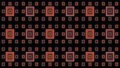 Stock Video Footage of VJ Loop Animation Neon Square Milimetre  Art Background Visual