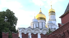 Moscow. The Kremlin. Ivan the great bell tower Stock Footage