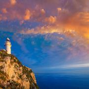 Denia Javea San Antonio Cape Mediterranean Lighthouse - stock photo