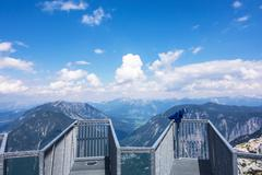 Five Fingers observation deck, Obertraun, Austria - stock photo