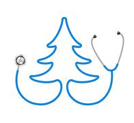 Stock Illustration of Stethoscope in shape of tree