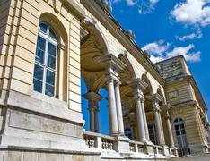 Stock Photo of Gloriette building at Schonbrunn Palace