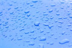Abstract background, Condensation on the glass surface. - stock photo