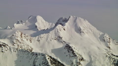 Cascade Mtns Aerial Stock Footage