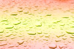 Stock Photo of Abstract background, Condensation on the glass surface.
