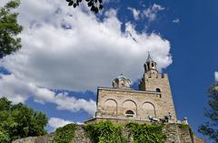 The Church at Tsarevets in Veliko Tarnovo - stock photo