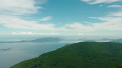San Juan Islands View Stock Footage