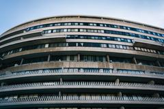 The Watergate Hotel, in Washington, DC. - stock photo