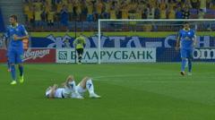 Soccer, Injury, Injured Player, Medical, Health - stock footage