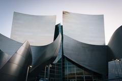 Stock Photo of Architectural details of a modern building in downtown Los Angeles, Californi