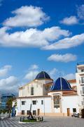 Stock Photo of Benidorm San jaime church Alicante Spain