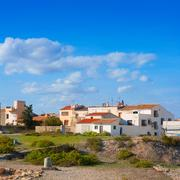 Stock Photo of Tabarca Island streets in Alicante