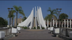 Compton Court House and City Hall Stock Footage