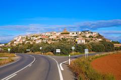 Berdun in Huesca Aragon Pyrenees of Spain - stock photo