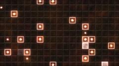 Tiled Background and Light Animation - Loop Orange Stock Footage