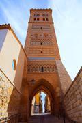 Aragon Teruel Torre de San Martin Mudejar UNESCO - stock photo