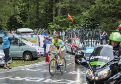 The Cyclist Daniele Bennati - Tour de France 2014 Stock Photos
