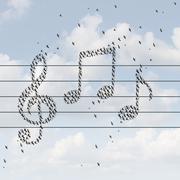 Music Concept Stock Illustration