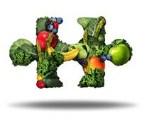 Healthy Food Solution Stock Illustration