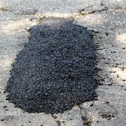 Pothole Patch Stock Illustration