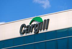 Stock Photo of Cargill Corporate Headquarters and Sign