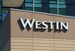 Westin Hotel Exterior - stock photo